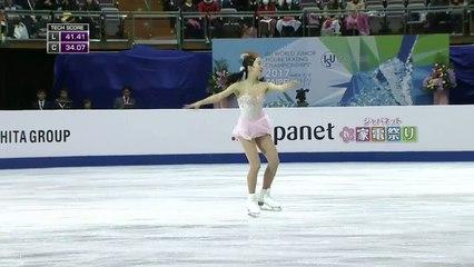 HD. Marin HONDA 本田真凜 SP - 2017 Junior World Championships