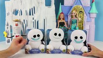 NEW Snowgies FROZEN FEVER Chatterback Snowmen Elsa Anna Olaf Toy Review