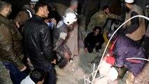 42 قتيلا وعشرات الجرحى في قصف جوي لمسجد في شمال سوريا