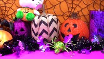 Paw Patrol Marshall Halloween Pumpkin Full of Toy Surprises and Candy! Shopkins Pumpkins &