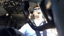 Ce pilote de ligne se filme en plein atterrissage par vent de travers