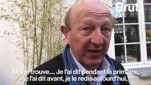 « Jean-Luc Mélenchon prend un risque énorme », explique Jean-Luc Bennahmias à la sortie du discours de Benoît Hamon