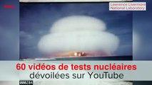 Des images déclassifiées de tests nucléaires de l'armée américaine dévoilées