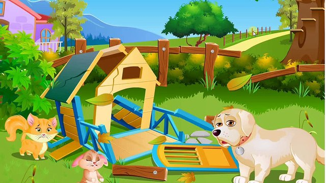 Pet House Story: Help Pets Rebuild Their House! Pet House Story   Kids Play Palace