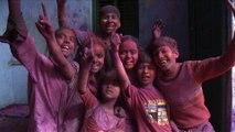Inde: compilation de Holi, festival hindou haut en couleurs