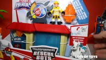 TRANSFORMERS RESCUE BOTS SERVO ROBOT DOG HEATWAVE DRAGON BOT BOULDER CHASE CRIME FIGHTERS