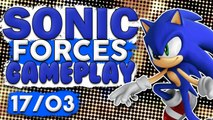 SONIC FORCES - GAMEPLAY DE SONIC ( Xbox One / PS4 / PC / SWITCH )
