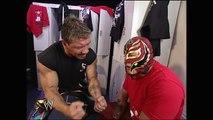 Eddie Guerrero, Rey Mysterio, Chavo Guerrero Backstage SmackDown 04.28.2005