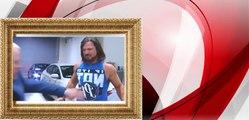 AJ Styles Attacks Shane Mcmahon WWE Smackdown - WWE Smackdown March,2017