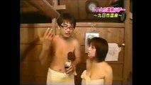 (放送事故)女子アナ温泉レポート タオルからおっぱいこぼれそう