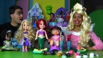 Disney Princess Aurora's Ice Cream Party! _ Toy Review _ Konas2002-o5nUILcaQaI