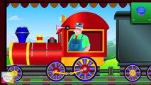 Wild Animals Train - Mr.Bells Learning Train | Animals For Children