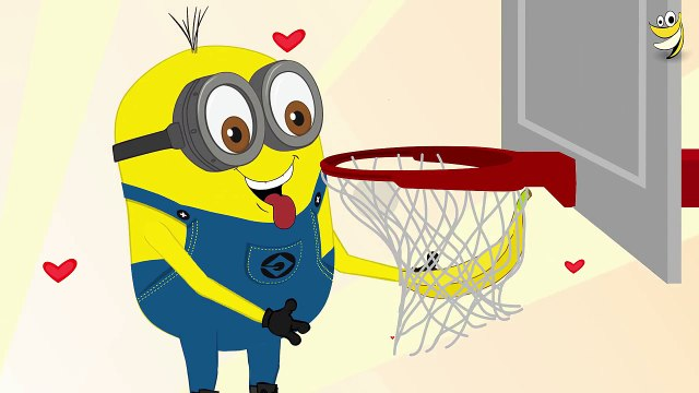 Minions Banana ~ minions basketball ~ Minions Mini Movies 2016 [HD] 1080p