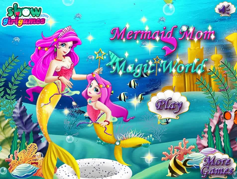 Frozen Games – Mermaid Mom Magic Word