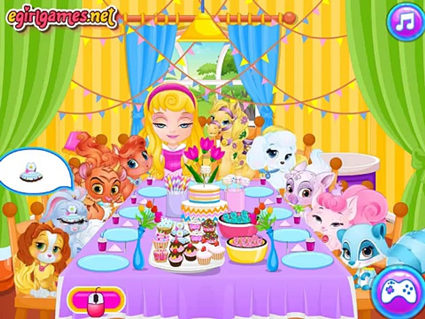 Baby Barbie Palace Pets Pj Party | Baby Barbie Game Episodes for Children in English