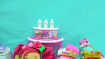 New Season 7 Shopkins Shoppies Dolls Cocolette Lucy Smoothie, Daisy Petals & Polli Polish-Iz