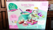 Real Cooking Ultimate Baking Starter Set - I Bake Sprinkle Sparkle Cupcakes!-V