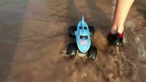 Monster Truck Lost at Sea Again!-ow