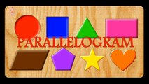 Learn Colors and Shapes with Wooden Shape Sorting Clock Educational Toys - Learning Videos
