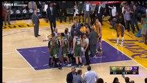 Entre les Lakers et les Bucks, c'était très chaud !