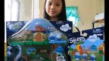 The Smurfs Micro Village Smurfette & Smurf Neighbor Pack ★ Build Smurfs Village For Kids W