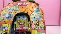 Pâte à modeler Play doh Bob léponge Visages amusants ♥ Play Doh Spongebob Silly Faces