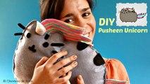 DIY PUSHEEN THE CAT, cojin PUSHEEN UNICORN, Manualidades KAWAII, Cómo hacer un Unicornio