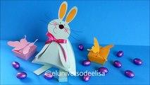 Cómo hacer una Caja de Regalo para Pascua, Conejo dulcero, Manualidades para Pascua, Decoración para Pascua,