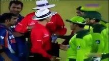 Best cricket fight between india vs Pakistan--India vs Pakistan best match ever - YouTube