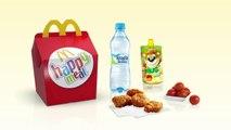 Happy Meal Sing iCanta McDonalds Zabawki z Filmu Reklama TV 2017