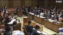 【2017.3.15 参議院】麻生財務大臣がブチ切れ!山本太郎議員「国家戦略特区って何ですか?一体どこにドリル入れようとしてるんですか?」