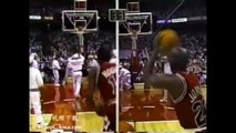 Michael Jordan in All-Star 3pt shootout competition