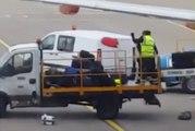 Mieux vaut ne rien mettre de fragile dans sa valise quand on passe à l'aéroport de Luton