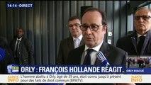 """Hollande après l'attaque à Orly: """"Nous devons toujours être d'une extrême vigilance"""""""
