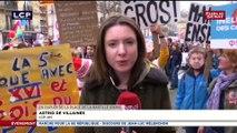 """Des milliers de personnes à la """"Marche pour la 6e République"""" de Jean-Luc Mélenchon"""