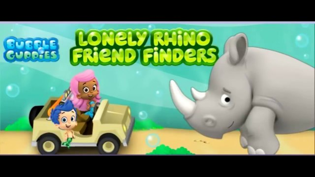 The Bubble Guppies Lonely Rhino Friend Finder - The Bubble Guppies FULL HD Game - Episode