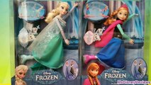 Новые функции замороженные Эльза и Анна лед катание на коньках дисней Барби Куклы играть доч Игрушки Обзор