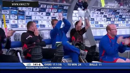 Abdul Razzaq Batting in County Cricket