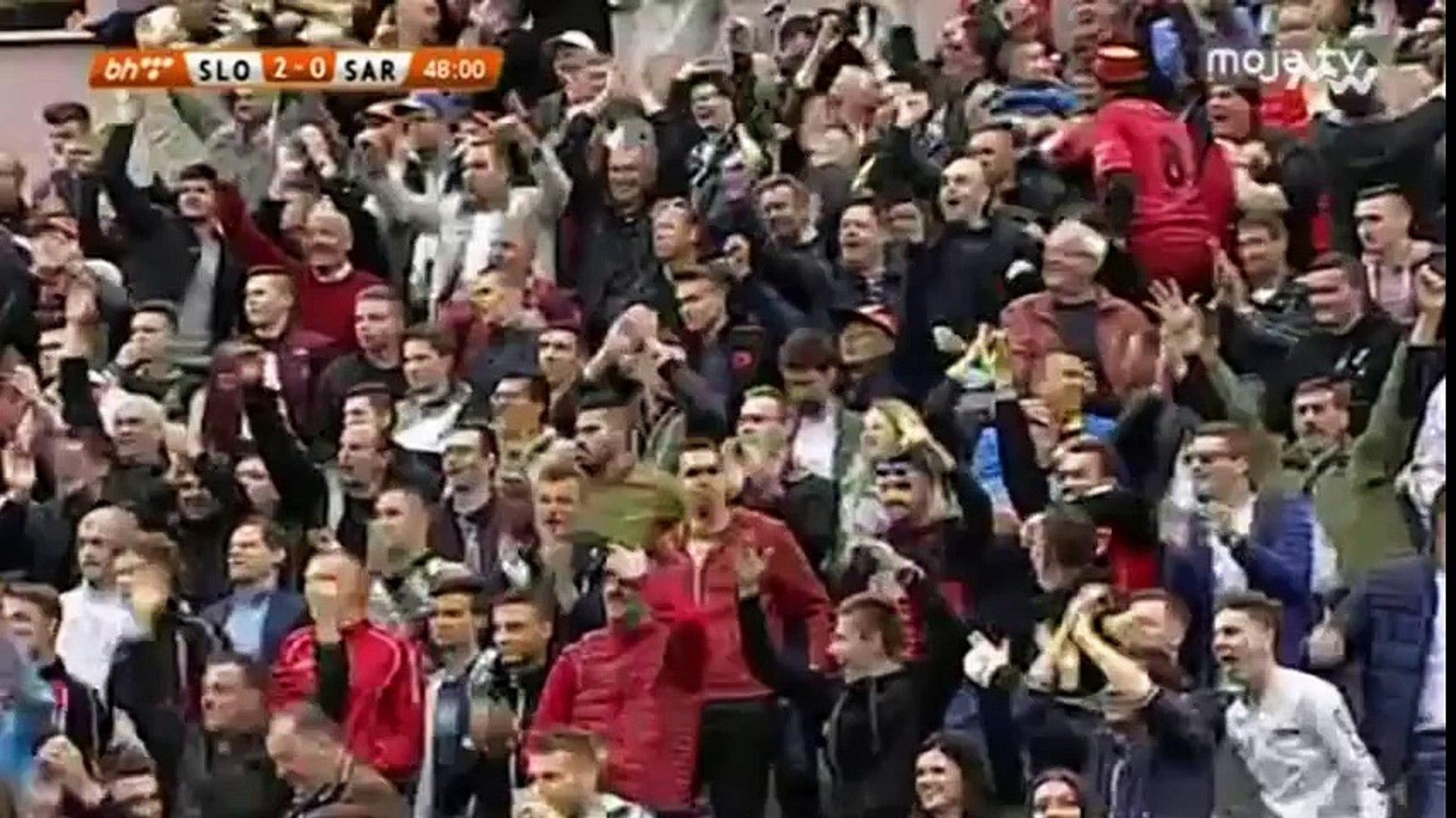 FK Sloboda - FK Sarajevo 3:0 [Golovi] (18.3.2017)