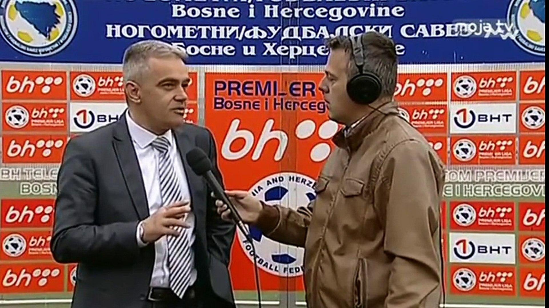 FK Sloboda - FK Sarajevo 3:0 / Izjava Jagodića