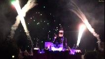 ºoº カリフォルニア ディズニーランド ビリーブ ホリデー マジック 城前 Disneyland Believe in Holiday Magic Fireworks Spectacular