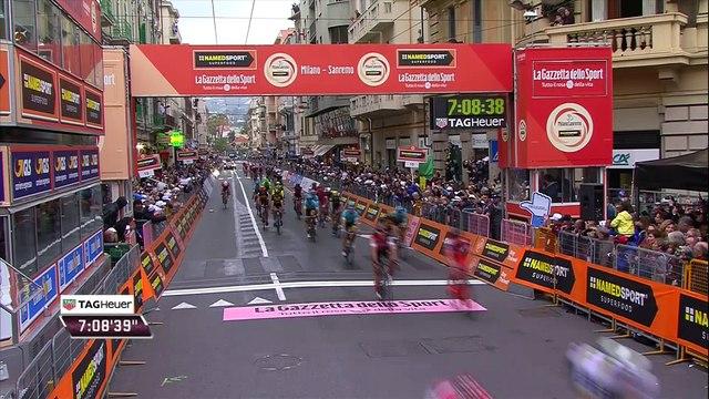 Cyclisme - Milan San Remo : Michal Kwiatkowski vainqueur au sprint devant Sagan, Alaphilippe 3e