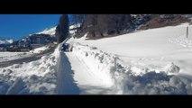 Descendre une piste de bobsled en Subaru WRX