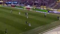 Alejandro Gomez Brilliant Goal for Atalanta - Atalanta 1 - 0 Pescara - Serie A - 19.03.2017