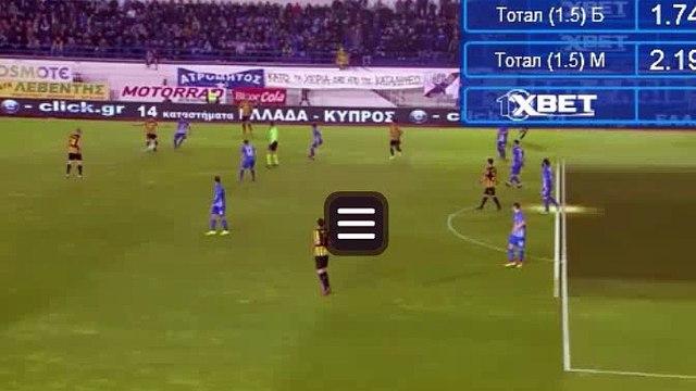 Petros Mantalos Goal HD - Atromitos 0-1 AEK 18.03.2017
