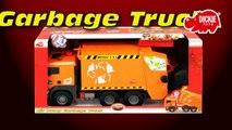 Действия воздух мусор насос Обзор игрушка Игрушки грузовая машина Дикки