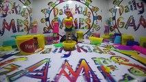 Play Doh Dresses Disney Princesses Elsa Anna Rapunzel Belle Aurora Ariel MERMAID