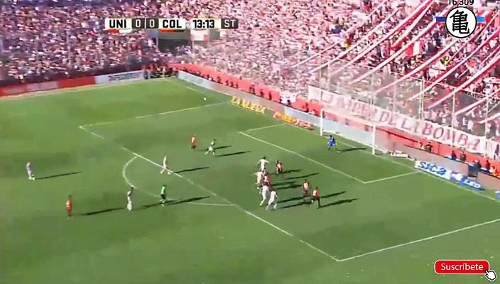 Guillermo Ortiz Goal HD - Union de Santa Fe0-1Colon Santa FE 18.03.2017