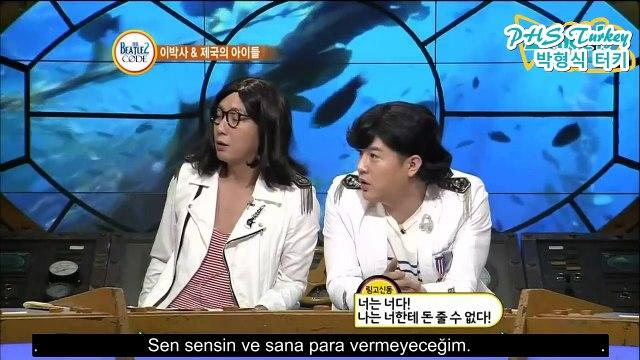 [120827]ParkHyungSik babası hakkında konuşuyor비틀즈코드 Beatles Code 제국의아이들 ZE:A (Türkçe Altyazılı/TrSub)