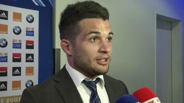Rugby - Tournoi des 6 Nations - Bleus : Dulin «Ça fait du bien»